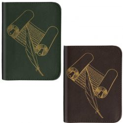 Deluxe Pocket Bible covers- Leather - Zipper