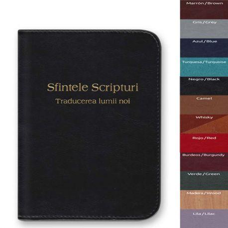 Capa Bíblia Média com fecho Rumano