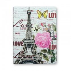 Funda iPad Motivo torre Eiffel