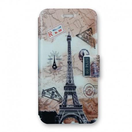 Housse Paris Retro iPhone 6 y 6Plus