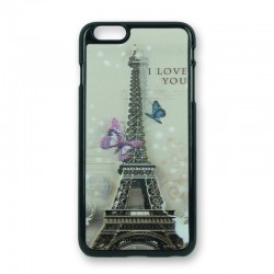 Cover Eiffel tower 3D iPhone 6Plus