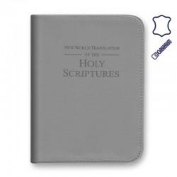 Capa da Bíblia Média - Pele