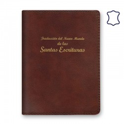 Cover for Regular Bible - Leather - Zipperless