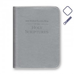 Couverture Bible Grande Grise (Rbi8) - Simili