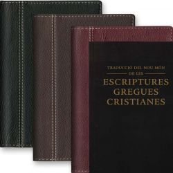 Couverture Bible Catalane - Cuir