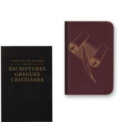 Capa da Bíblia catalão com fecho