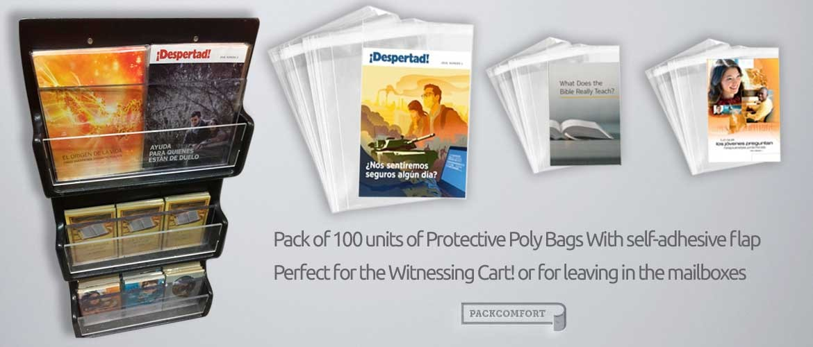 Protective Poly Bags for books and magazines